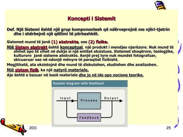 Koncepti i Sistemit