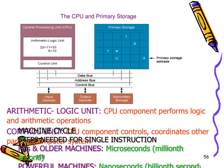 The CPU and Primary Storage