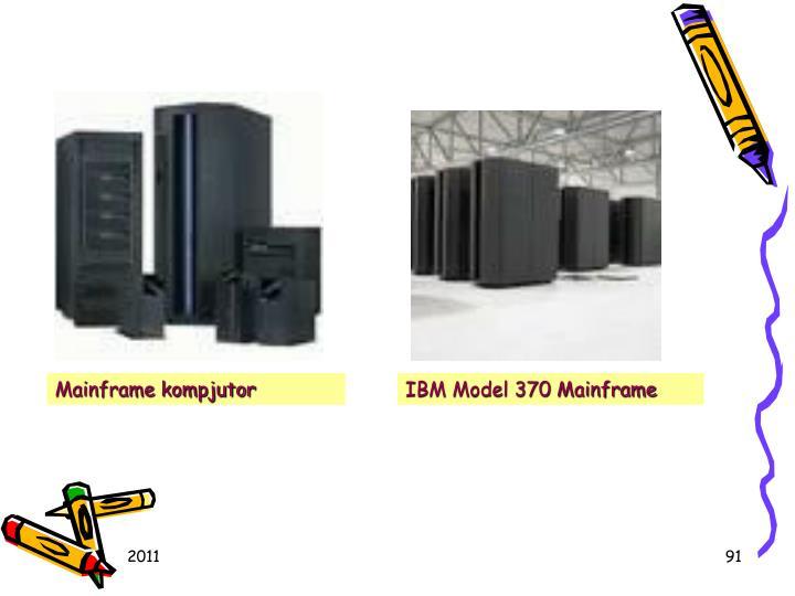 Mainframe kompjutor