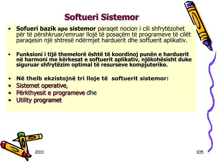 Softueri Sistemor