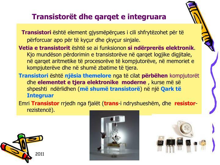 Transistort dhe qarqet e integruara