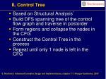 il control tree