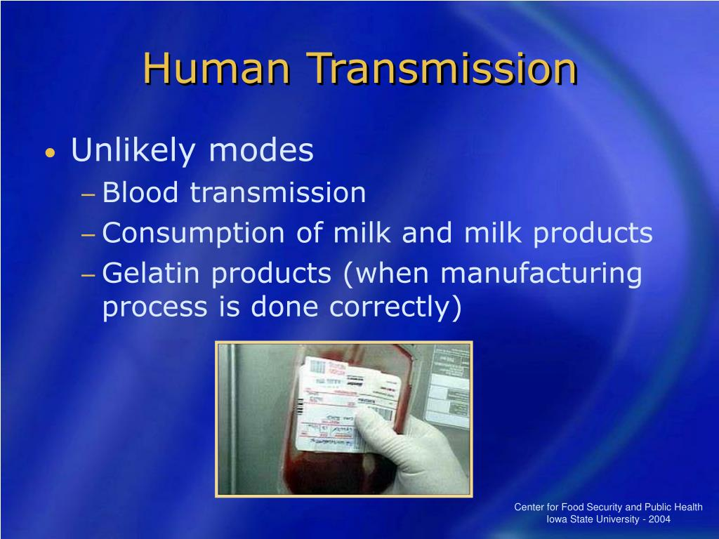 Human Transmission