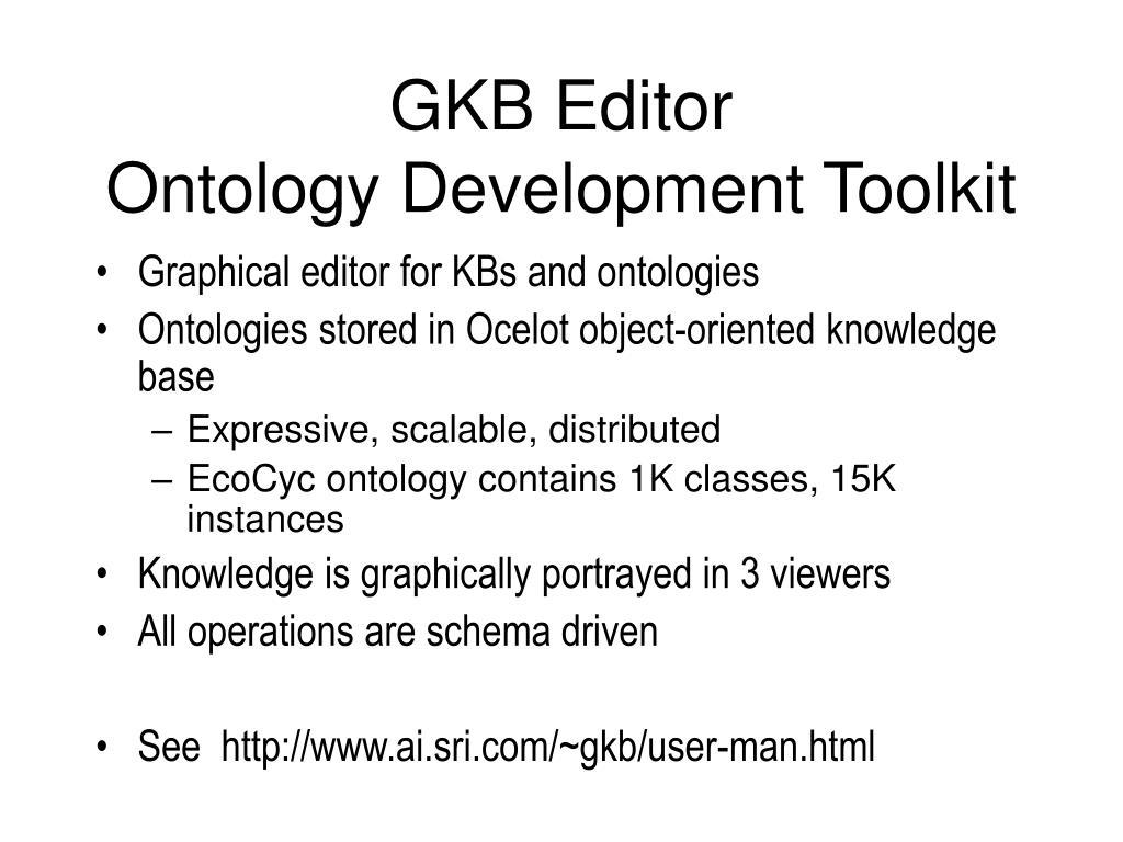 GKB Editor