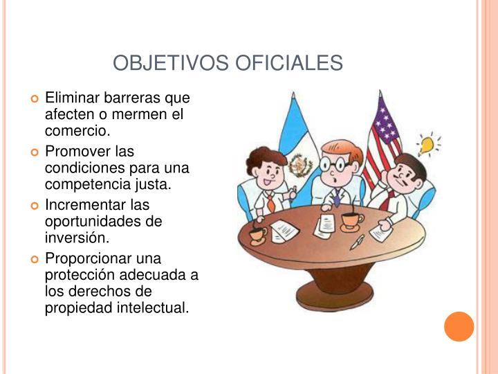 OBJETIVOS OFICIALES