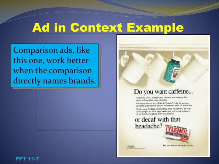 Ad in Context Example