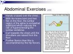 abdominal exercises link