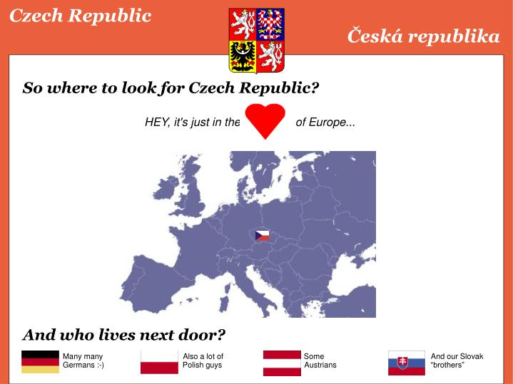 Czech republic esk republika