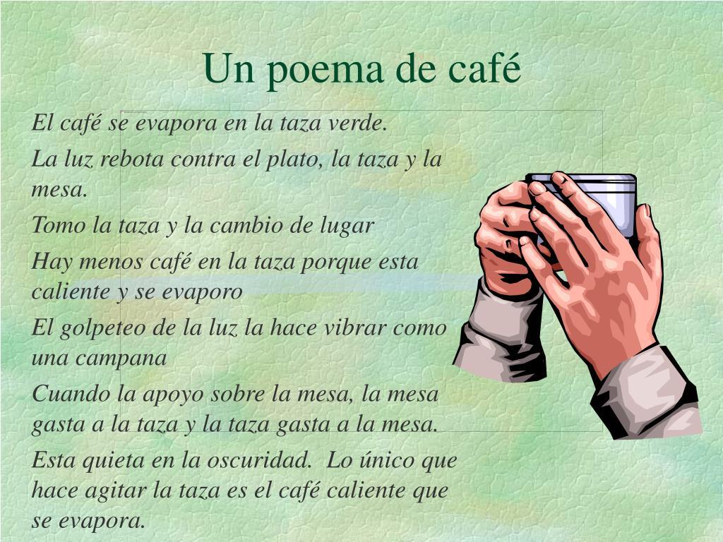 Un poema de café