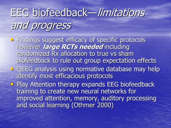 EEG biofeedback—