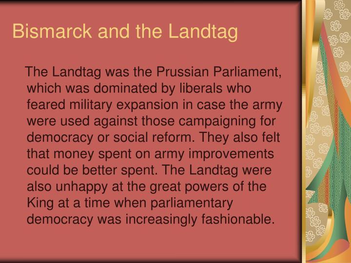 Bismarck and the Landtag