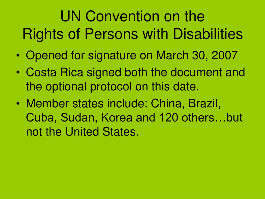 UN Convention on the
