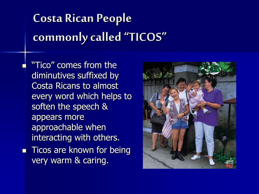 Costa Rican People
