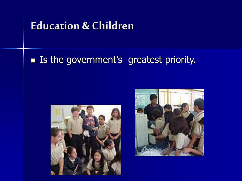 Education & Children