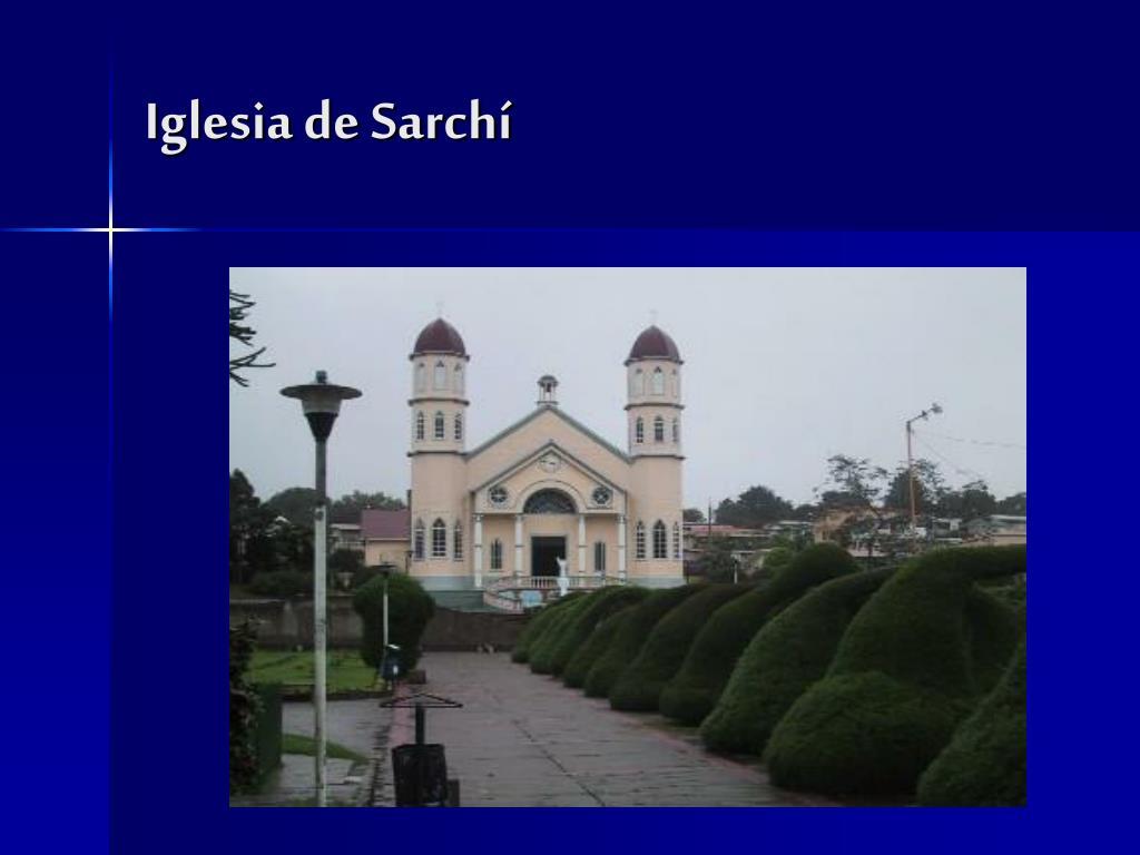 Iglesia de Sarchí