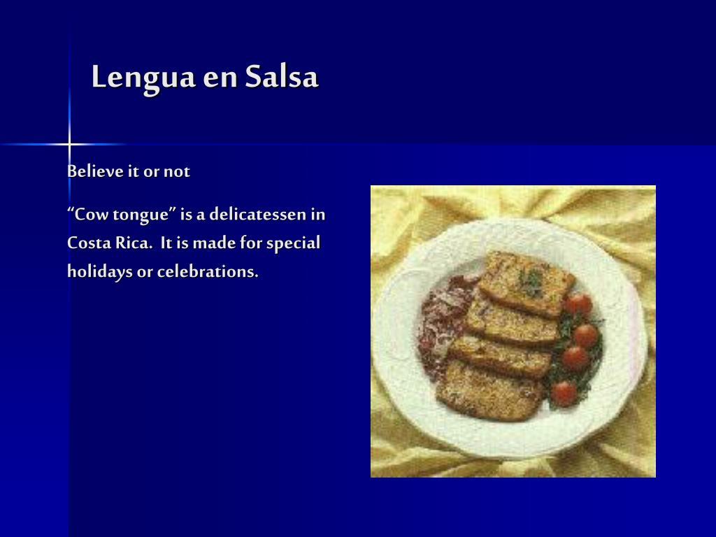 Lengua en Salsa