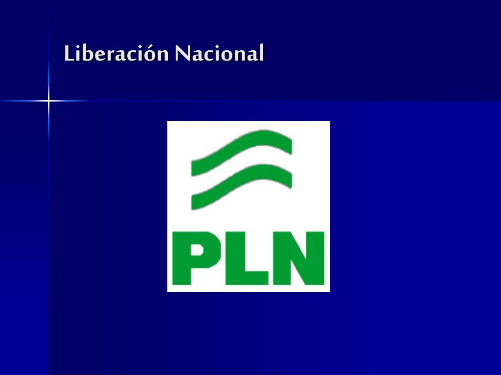 Liberación Nacional