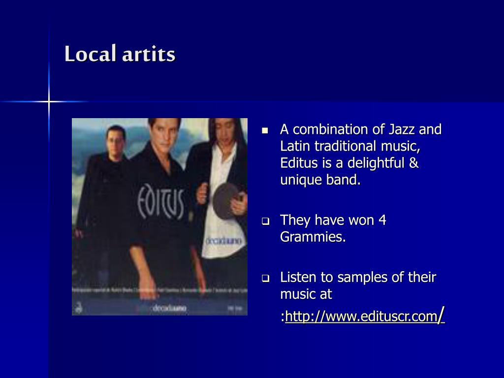 Local artits