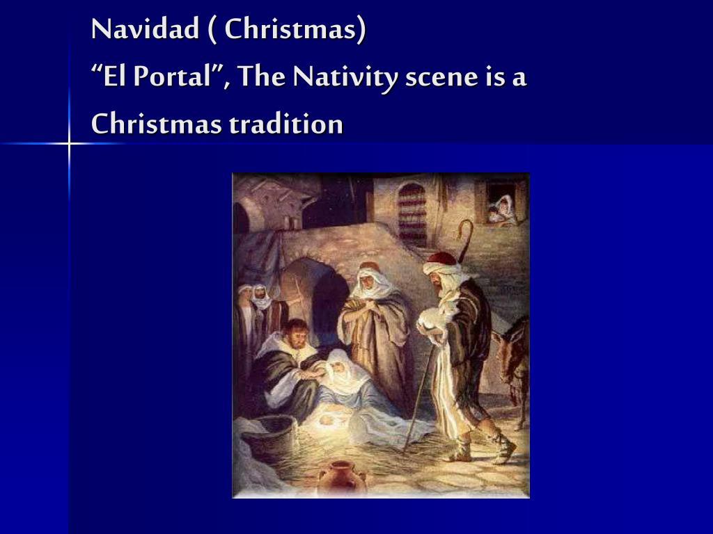 Navidad ( Christmas)