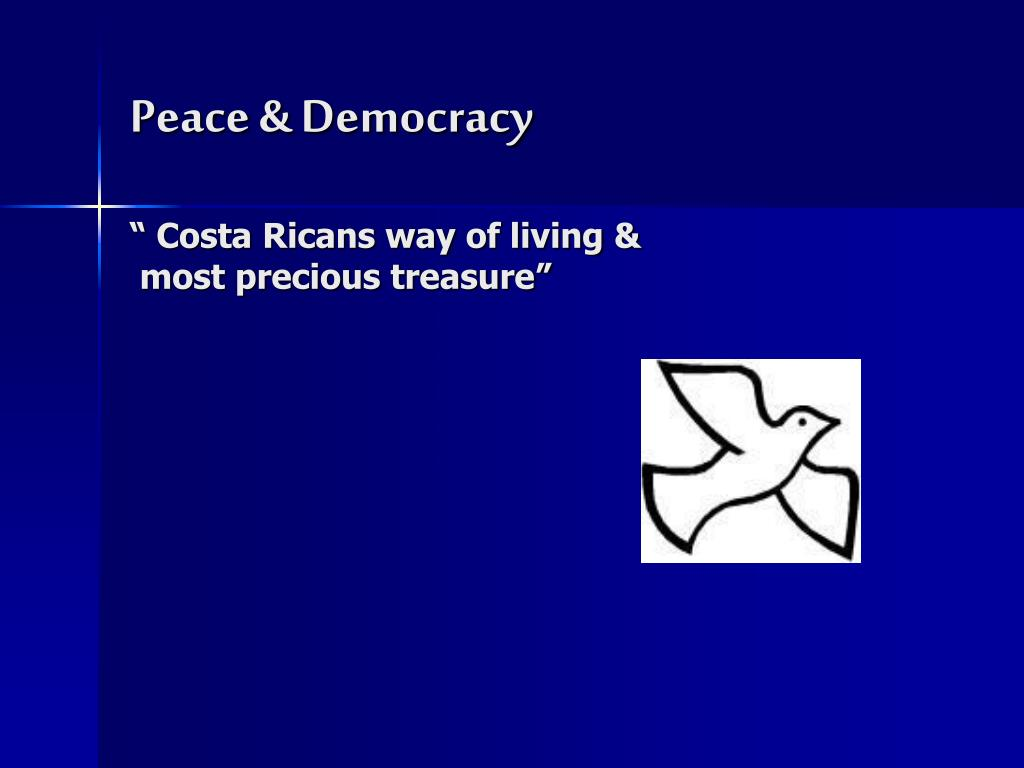 Peace & Democracy