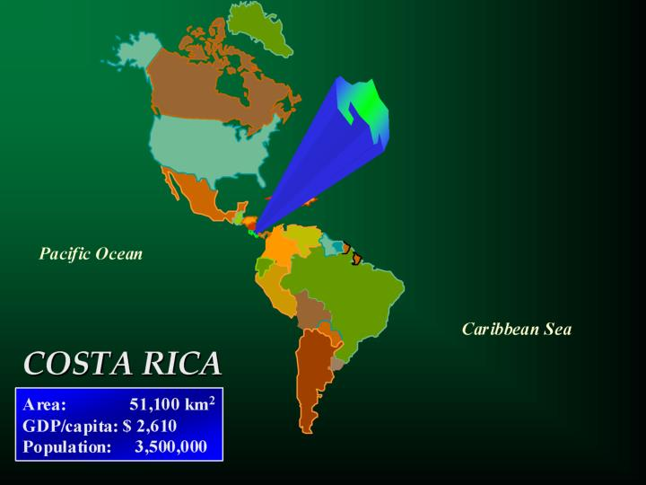Loss of dense forest cover in costa rica 1940 1990