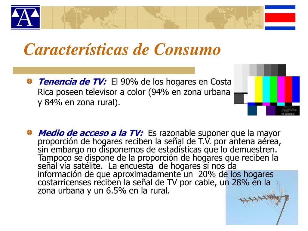 Características de Consumo
