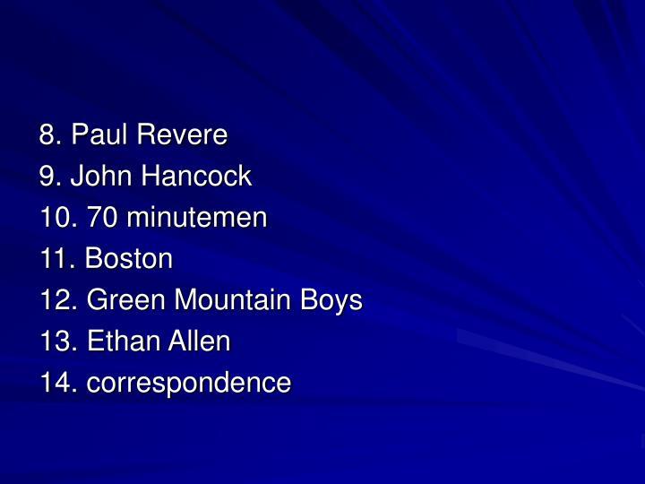 8. Paul Revere