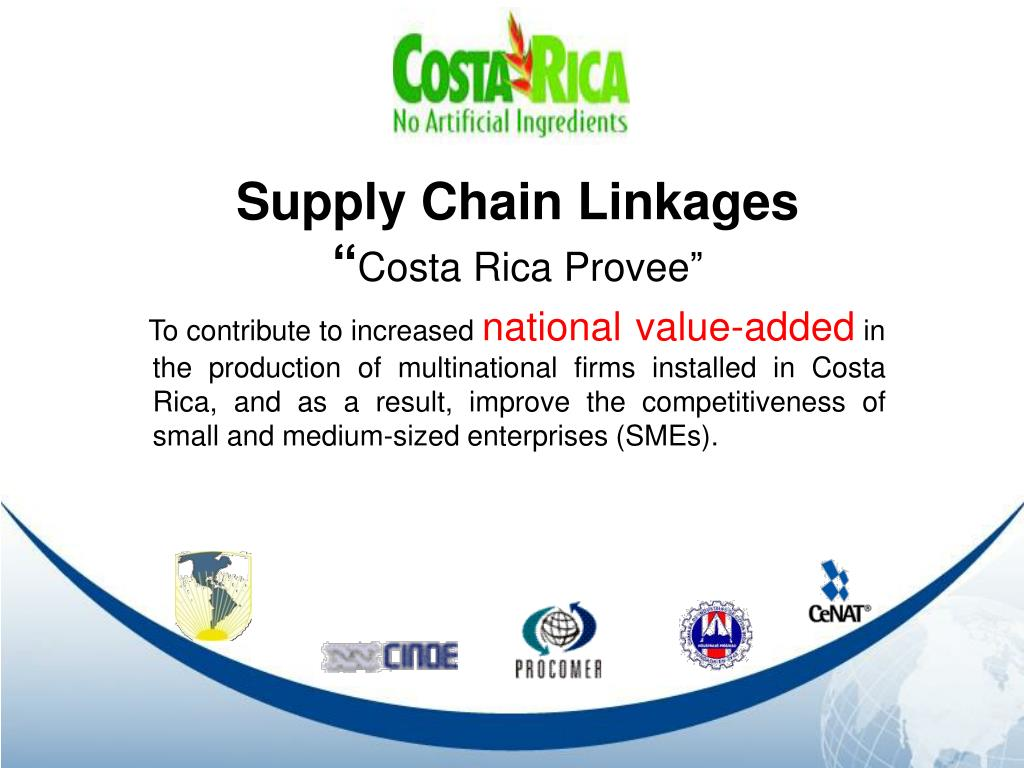 Supply Chain Linkages
