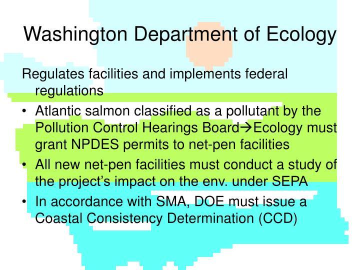 Washington Department of Ecology