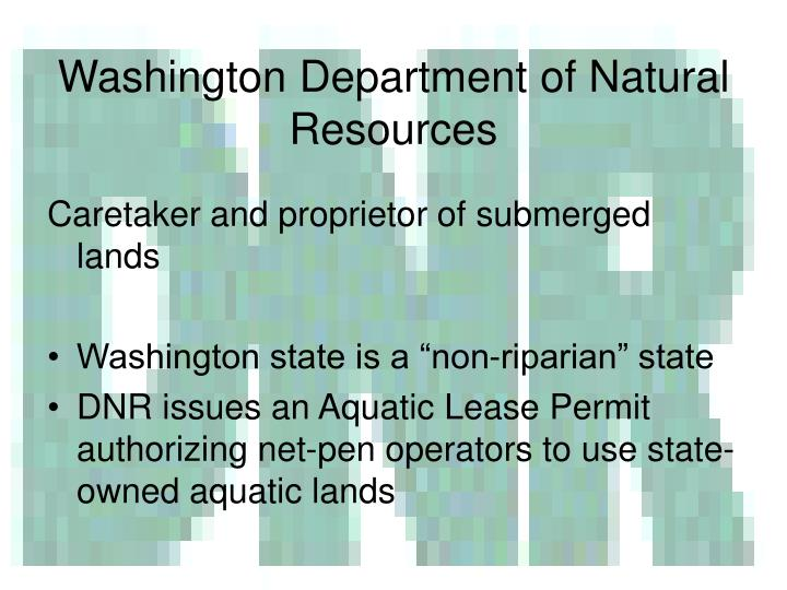 Washington Department of Natural Resources