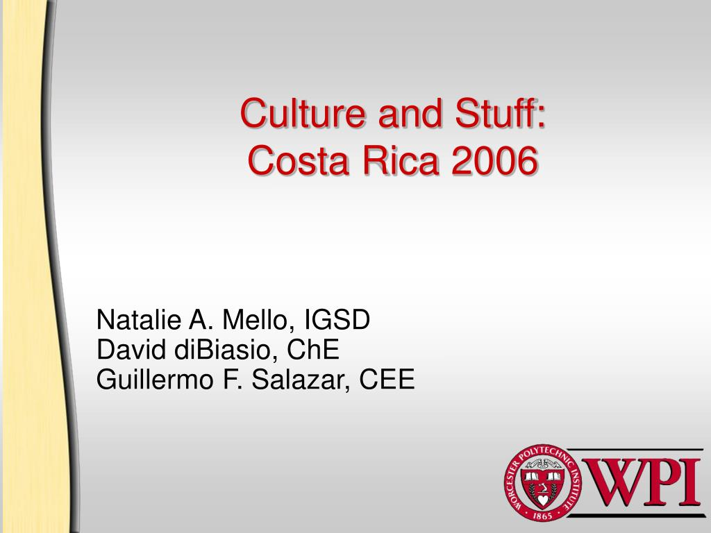 Culture and Stuff: