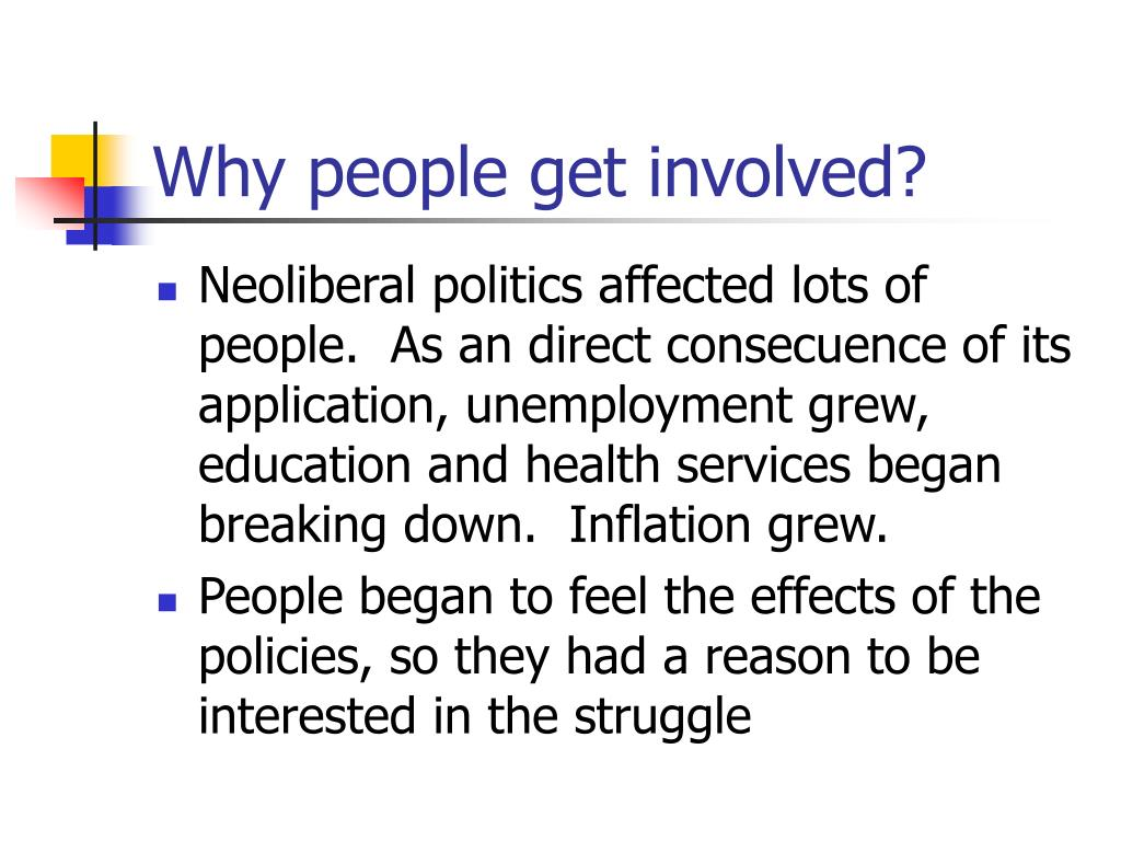 Why people get involved?