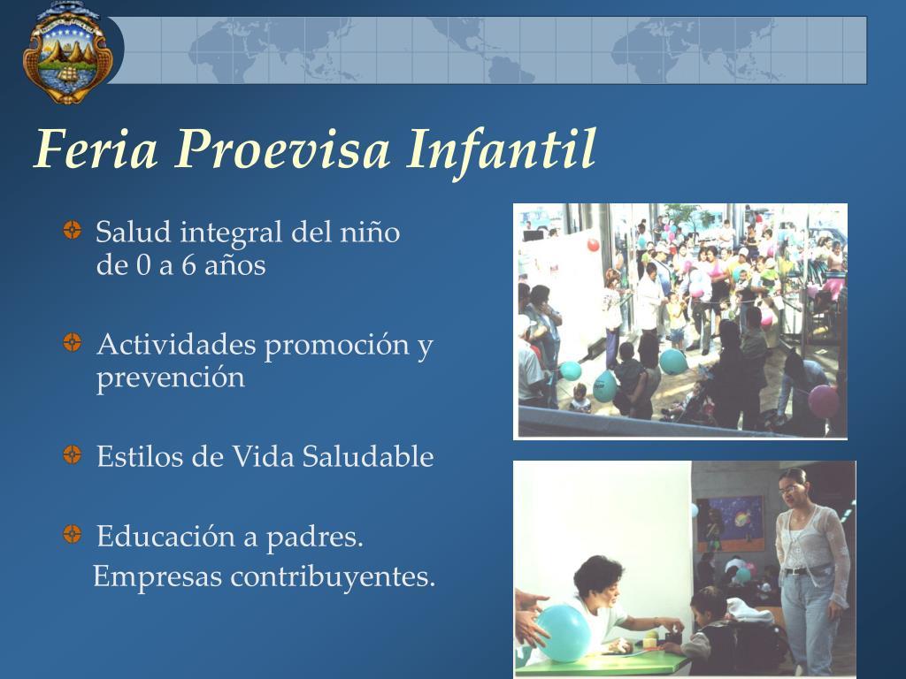 Feria Proevisa Infantil