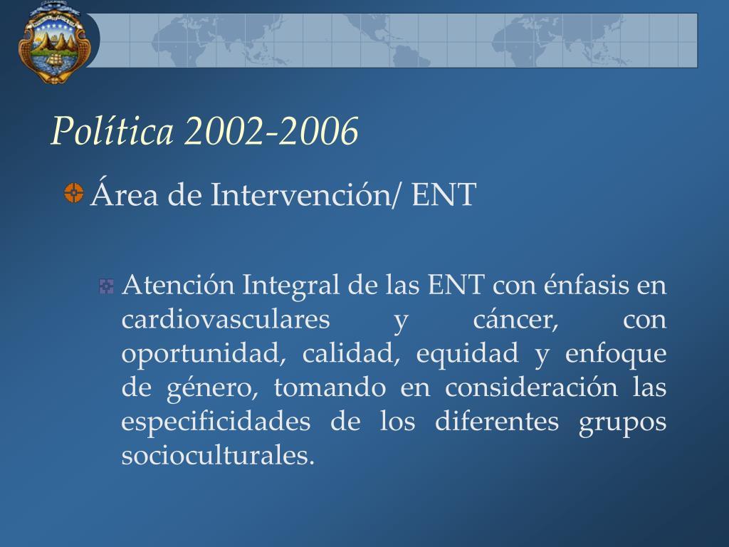 Política 2002-2006