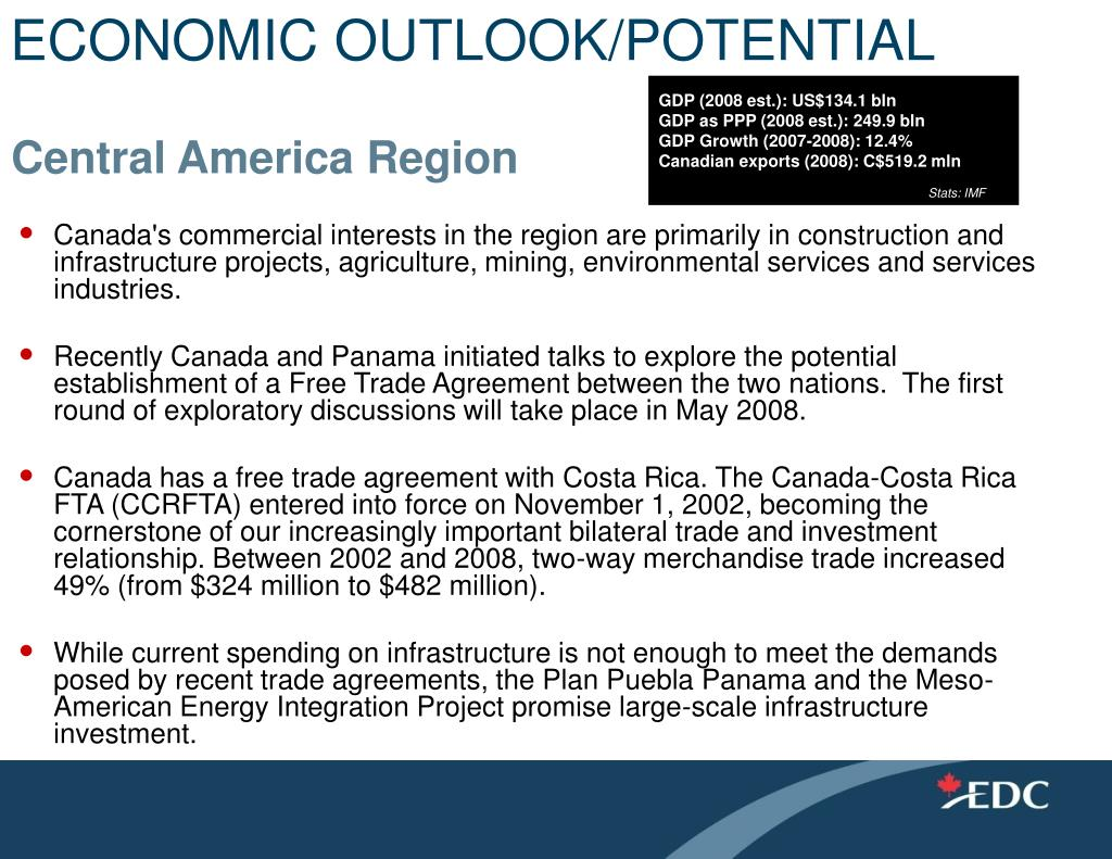 ECONOMIC OUTLOOK/POTENTIAL