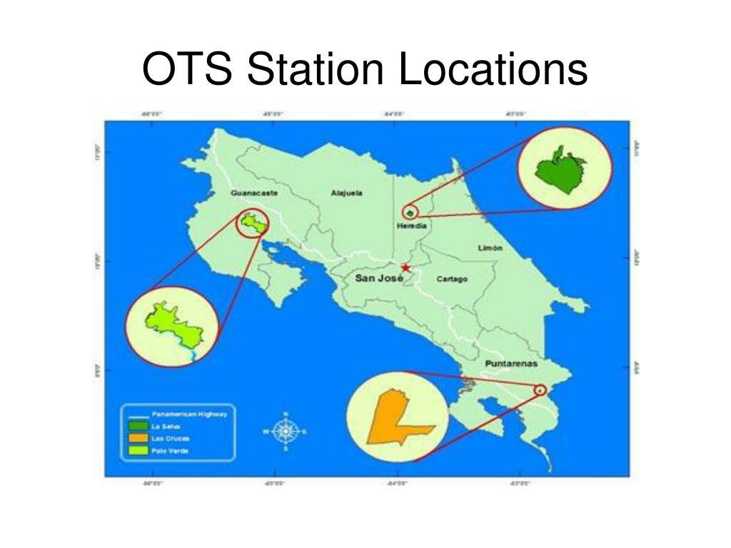 OTS Station Locations