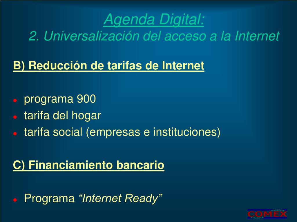 Agenda Digital: