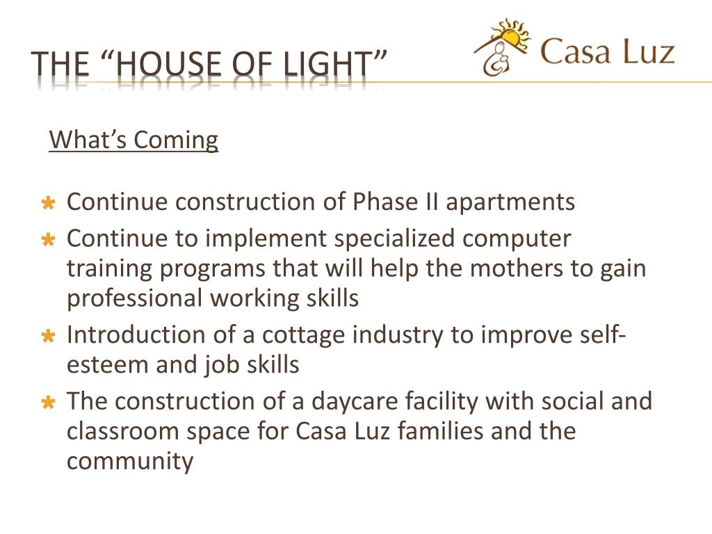 """The """"House of Light"""""""