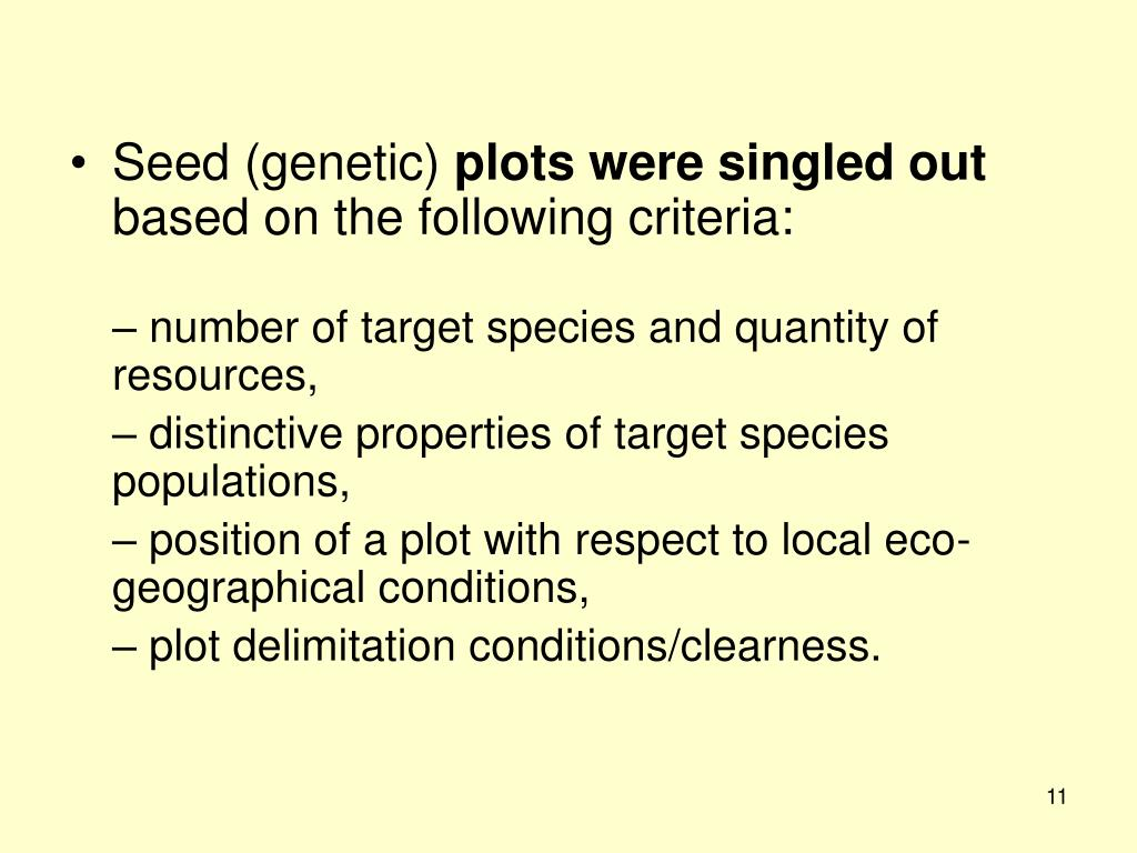 Seed (genetic)