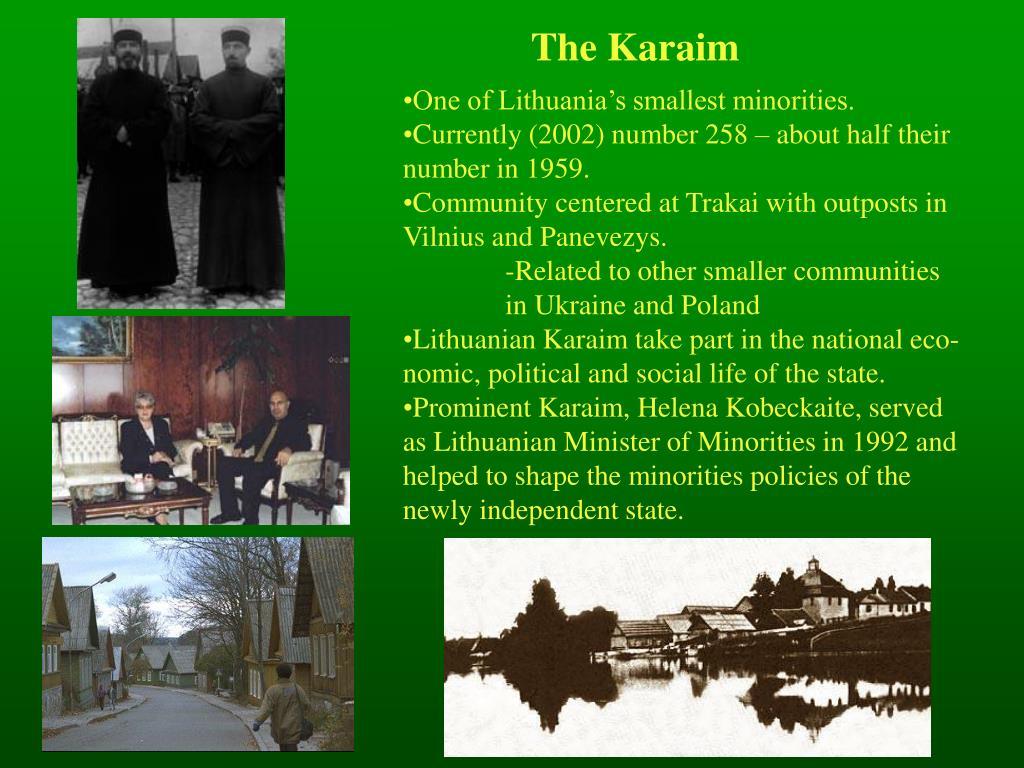 The Karaim