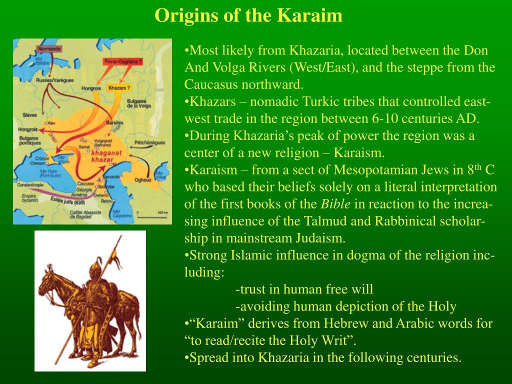 Origins of the Karaim