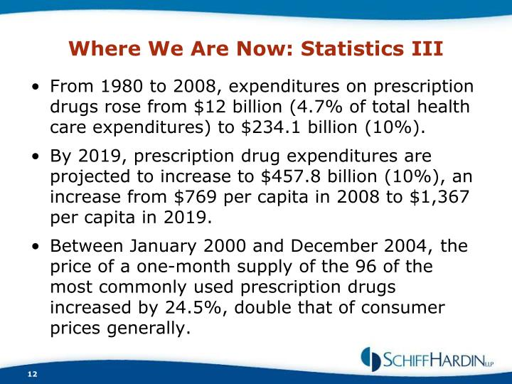Where We Are Now: Statistics III