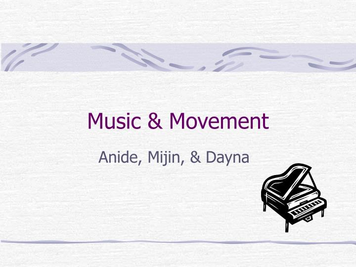Music movement