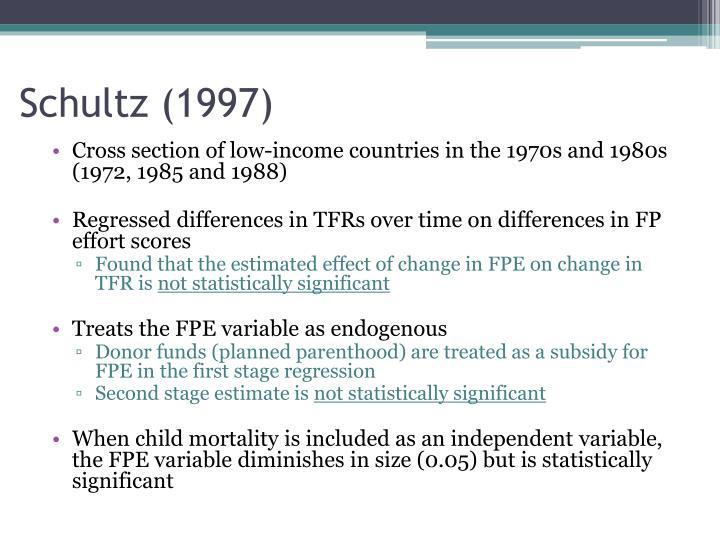 Schultz (1997)