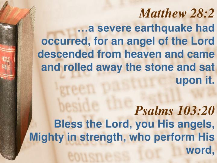 Matthew 28:2