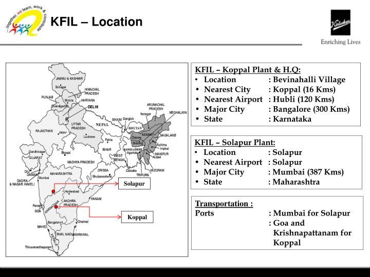 KFIL – Location