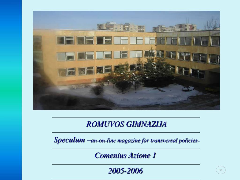 ROMUVOS GIMNAZIJA