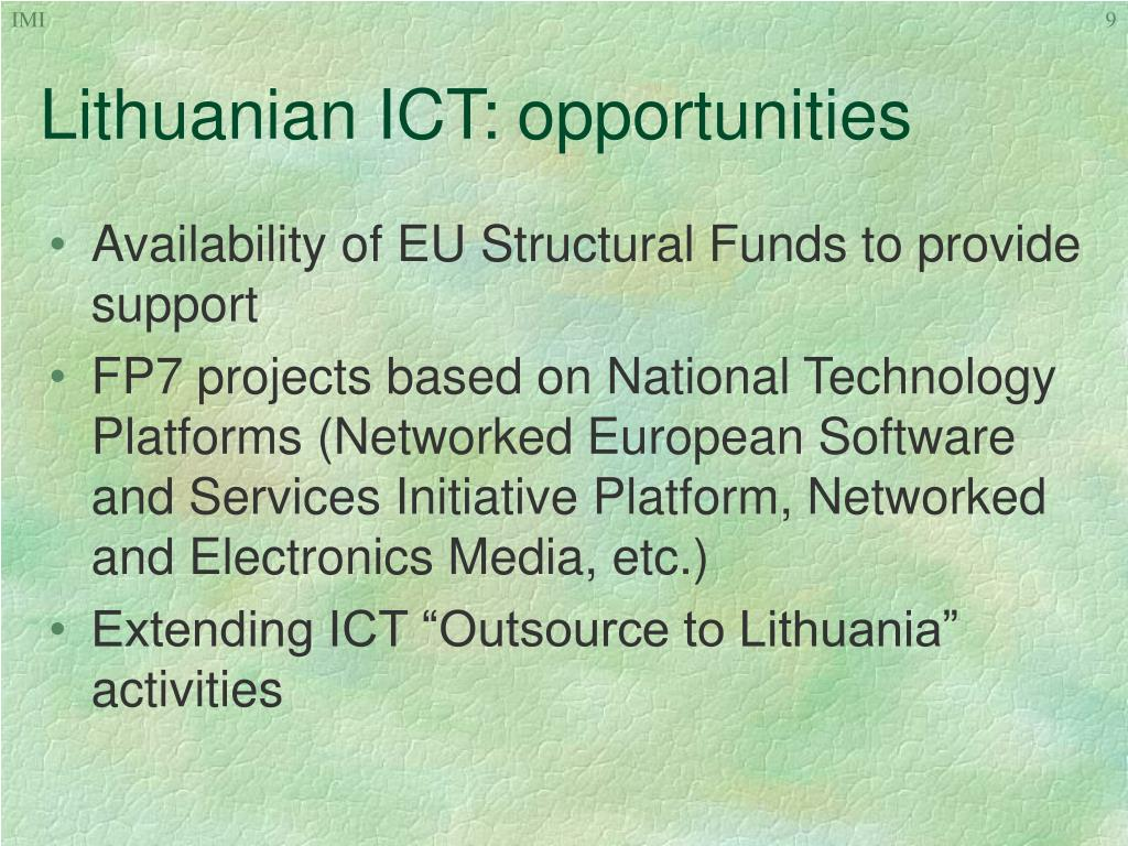 Lithuanian ICT: