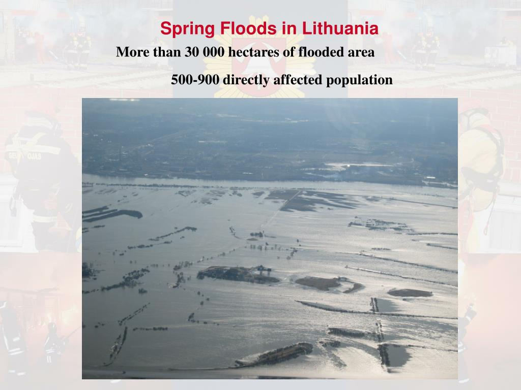 Spring Floods in Lithuania