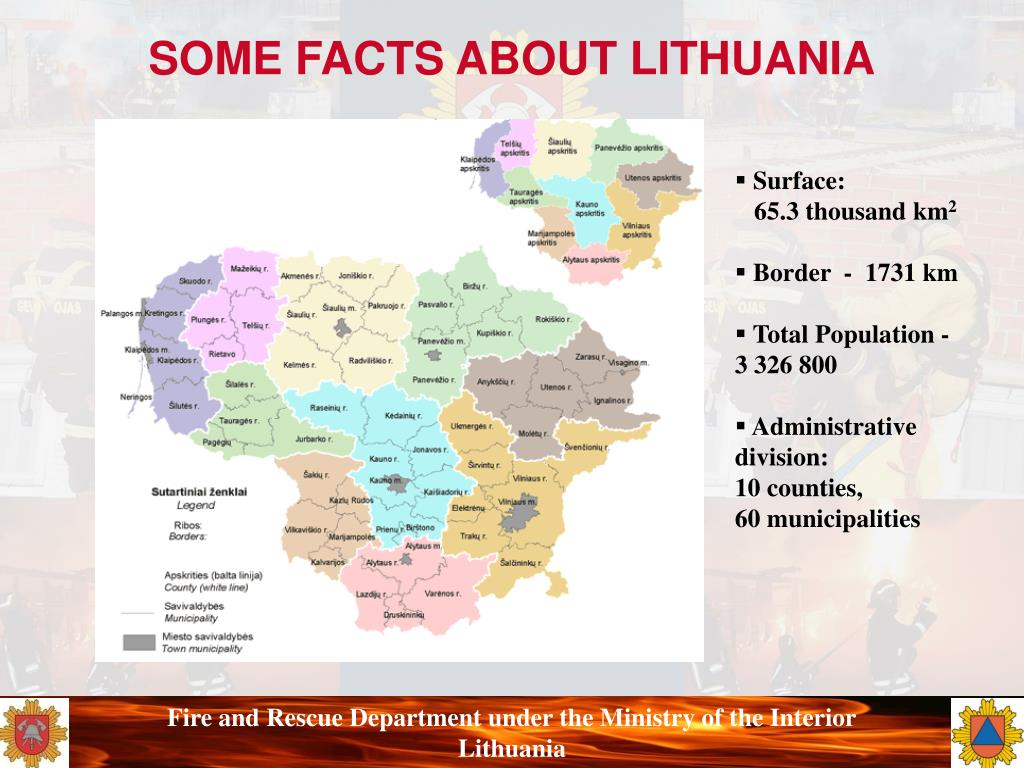 SOME FACTS ABOUT LITHUANIA